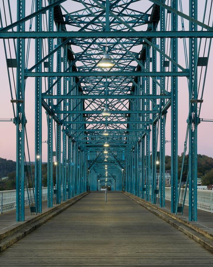 核桃街道桥梁 库存照片