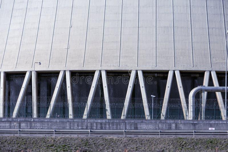 核电站Temelin在捷克 免版税库存照片