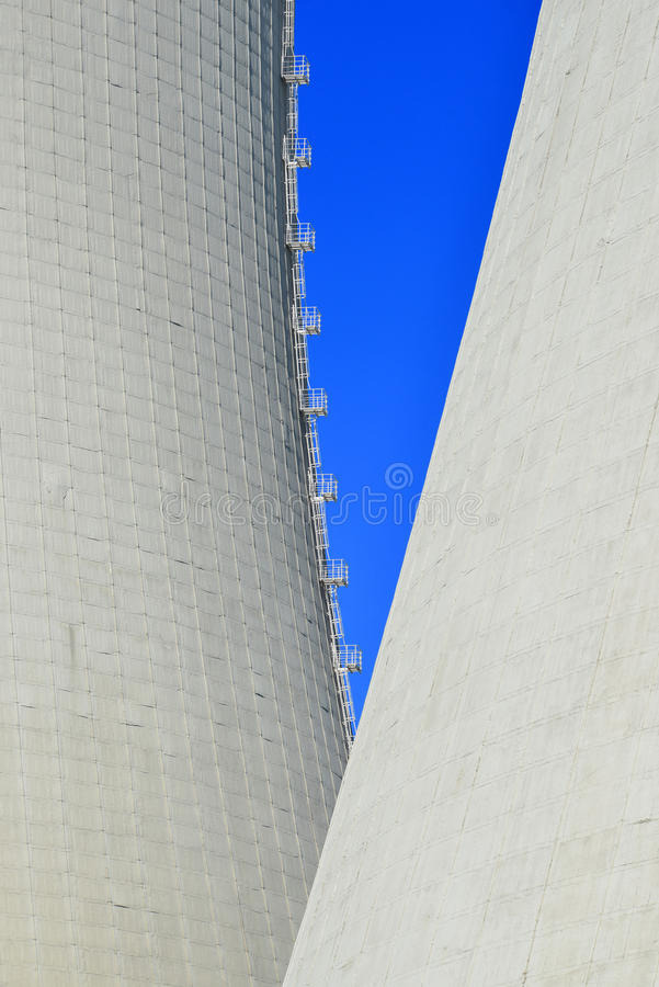 核电站Temelin 免版税库存图片