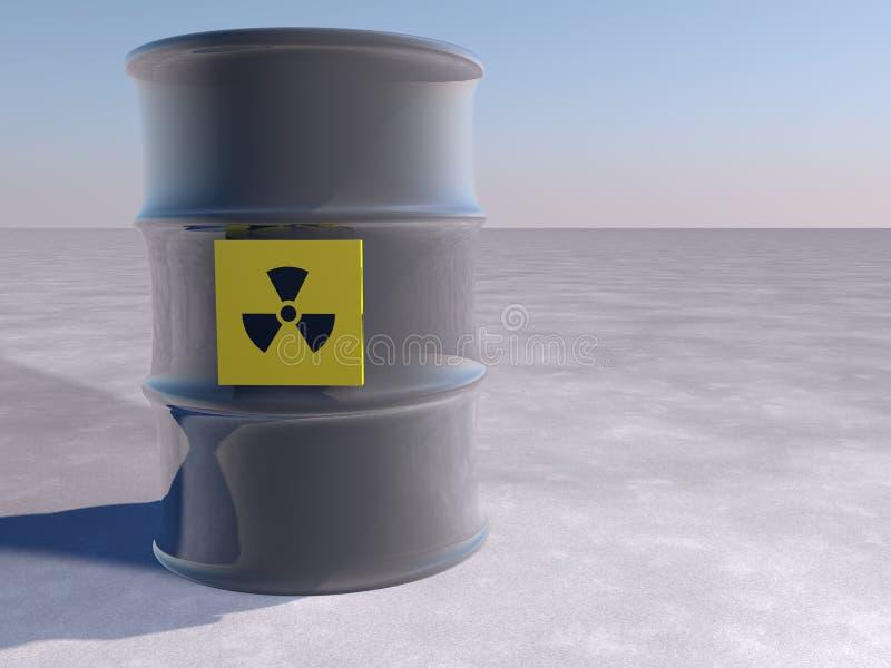核的危险 皇族释放例证