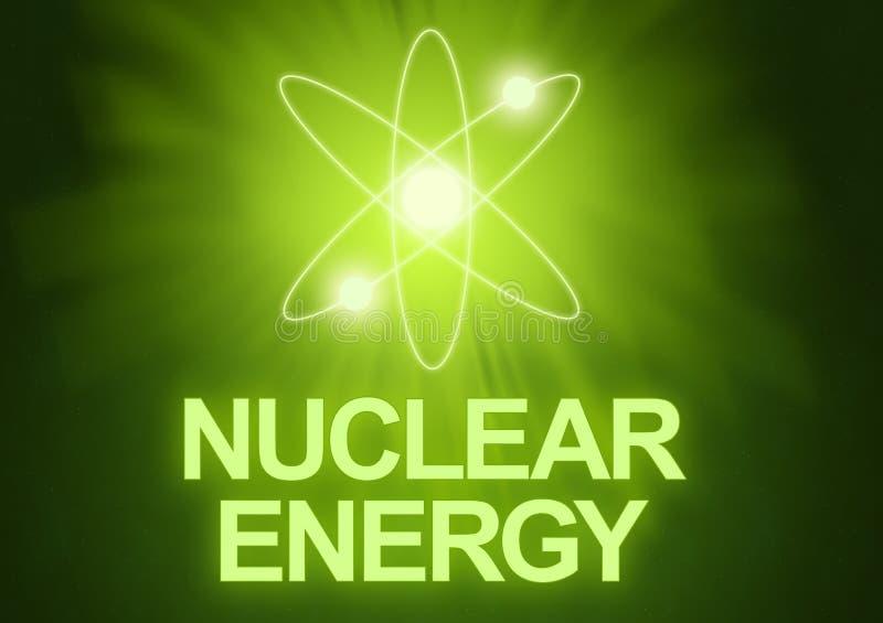 核的能源 向量例证