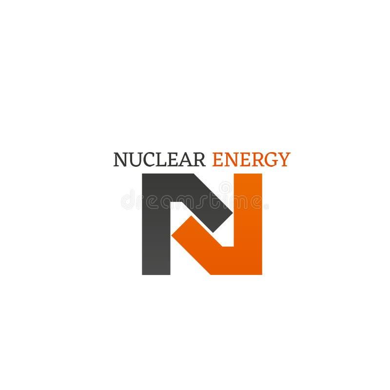 核能传染媒介象 皇族释放例证