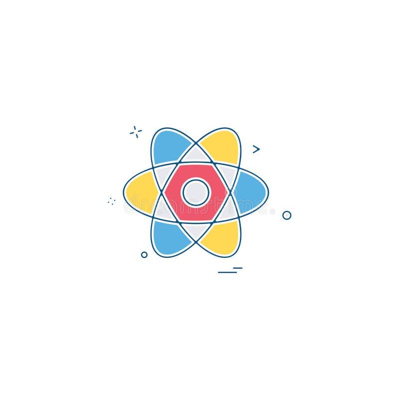 核象设计传染媒介 向量例证