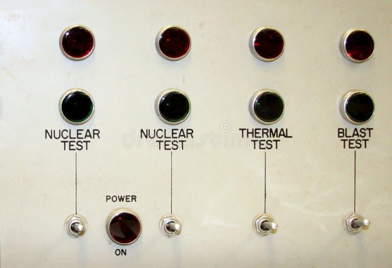 核面板测试 免版税库存图片