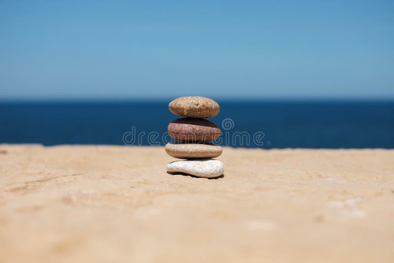 根据平衡的和谐 免版税库存照片