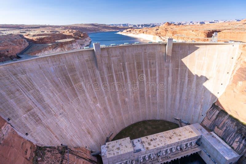 格伦峡谷大坝 免版税库存照片