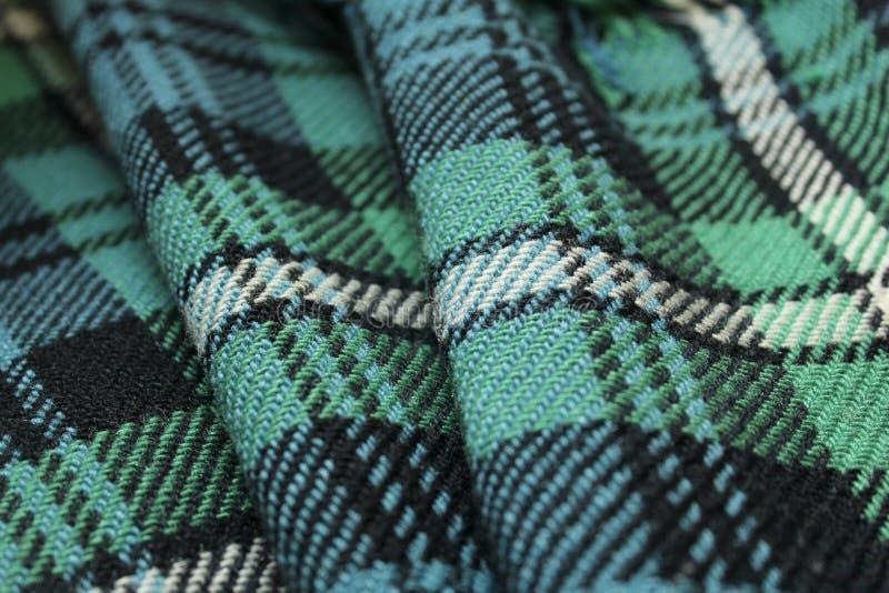 格子呢地毯 免版税库存照片