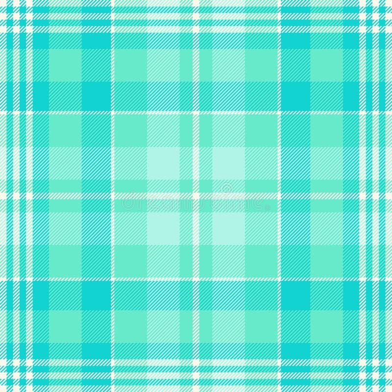 格子呢样式绿色和深蓝 格子花呢披肩的,桌布,衣裳,衬衣,礼服,纸,卧具,毯子,被子纹理和 库存例证