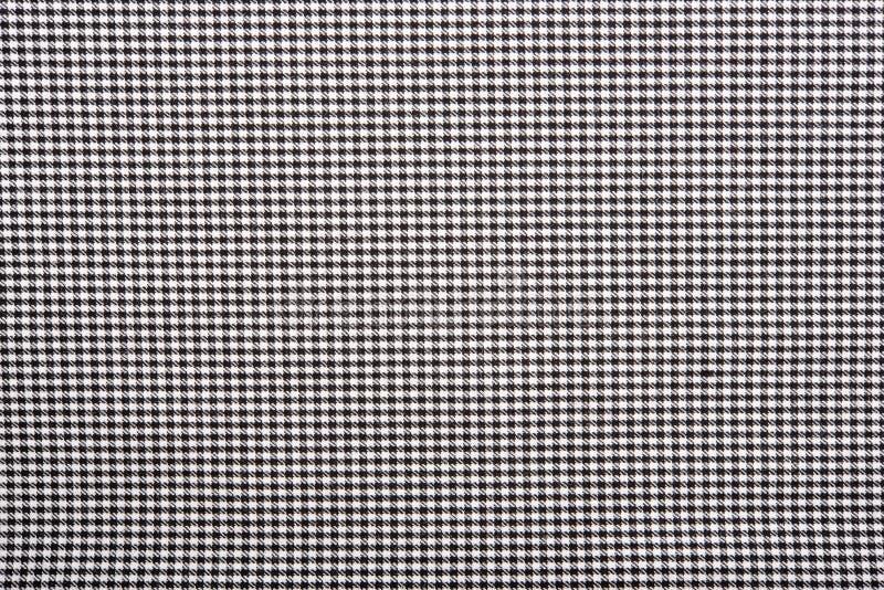 格子呢样式 无缝苏格兰传统的织品 在b的白色 免版税库存图片