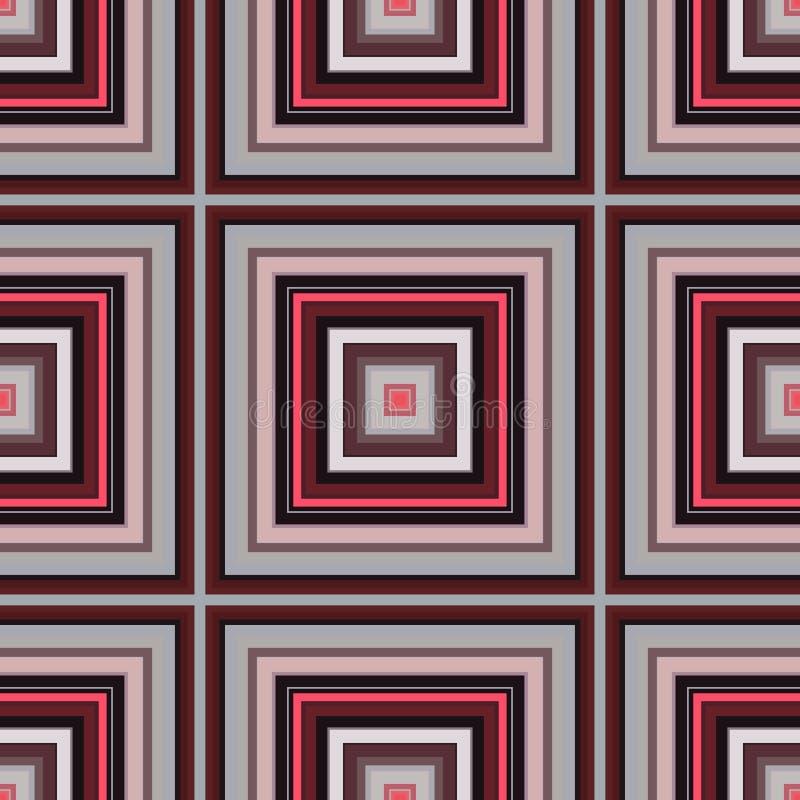 格子呢织品格子花呢披肩,无缝的背景 瓦片英国 向量例证