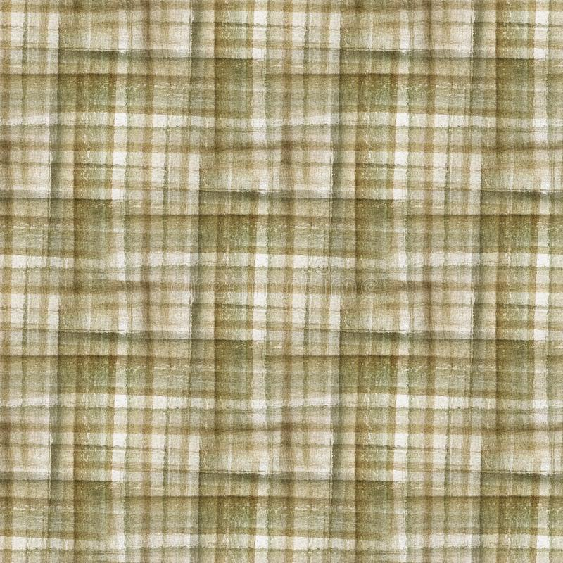 格子呢织品纹理 无缝的模式 免版税库存图片
