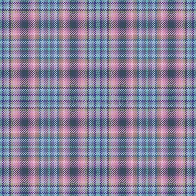 格子呢苏格兰织品或格子花呢披肩样式 方格的苏格兰男用短裙 图库摄影