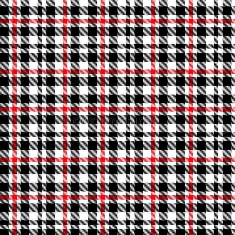 格子呢,红色和黑格子花呢披肩样式 格子花呢披肩的,桌布,衣裳,衬衣,礼服,纸,卧具,毯子,被子纹理和 皇族释放例证
