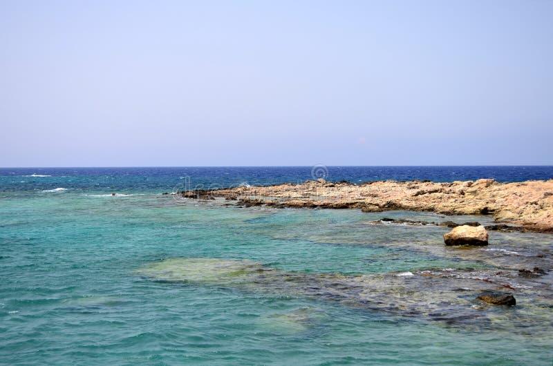 格拉姆武萨群岛海岛,希腊 图库摄影