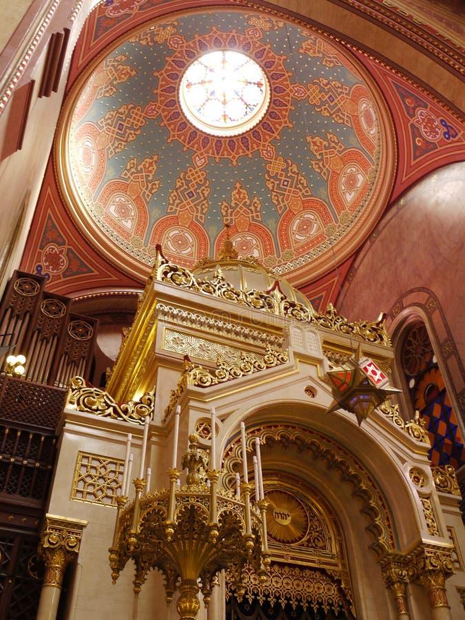格拉纳达大教堂,格拉纳达,西班牙圆顶的内部  免版税库存图片