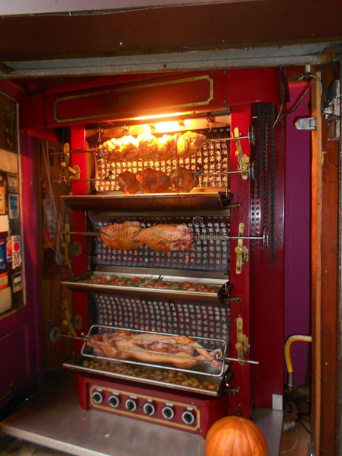 格栅猪肉 免版税图库摄影