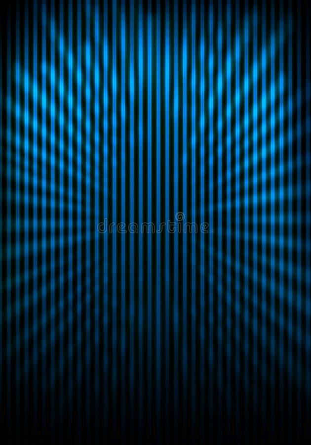 格栅轻的绘画光芒被遮蔽的墙壁 库存照片