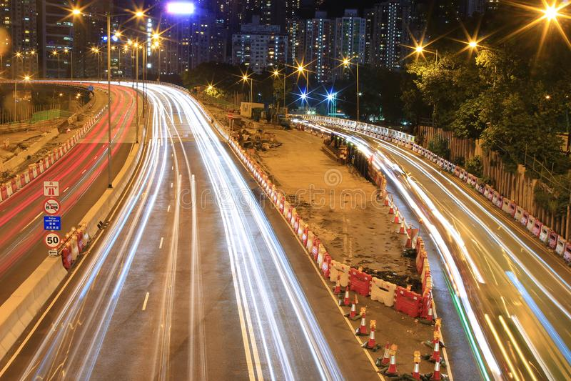 Download 格洛斯特路,一部分的铜锣湾夜 库存照片 - 图片: 101471076