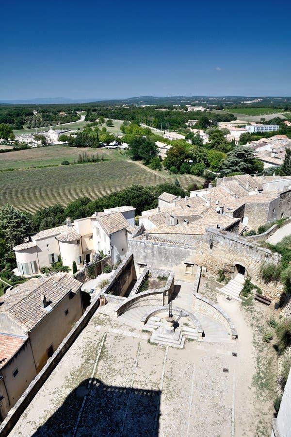 格里尼昂城堡  库存图片