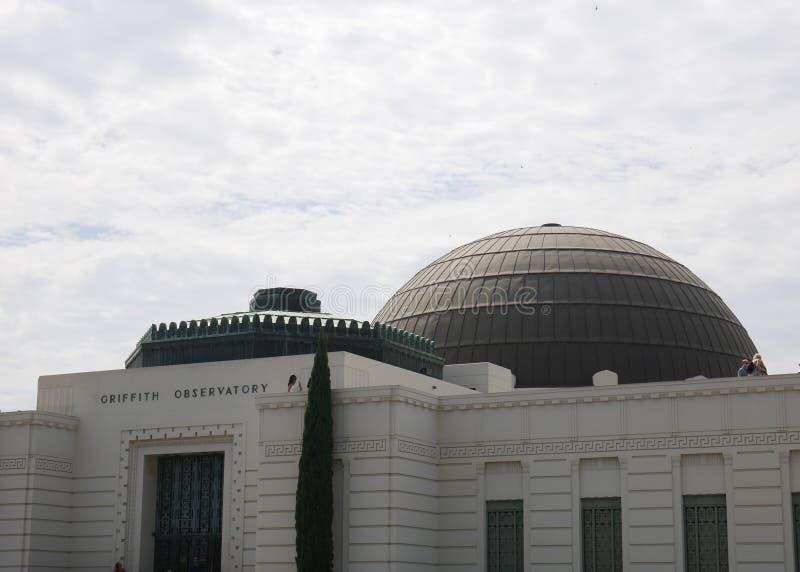 格里菲斯观测所大厦LA 库存照片
