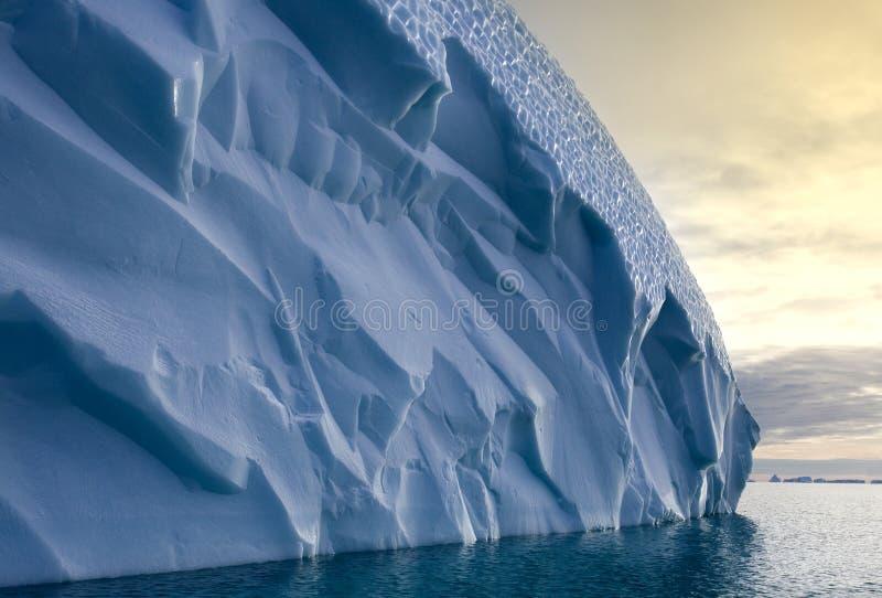 格陵兰冰山scoresbysund 库存图片