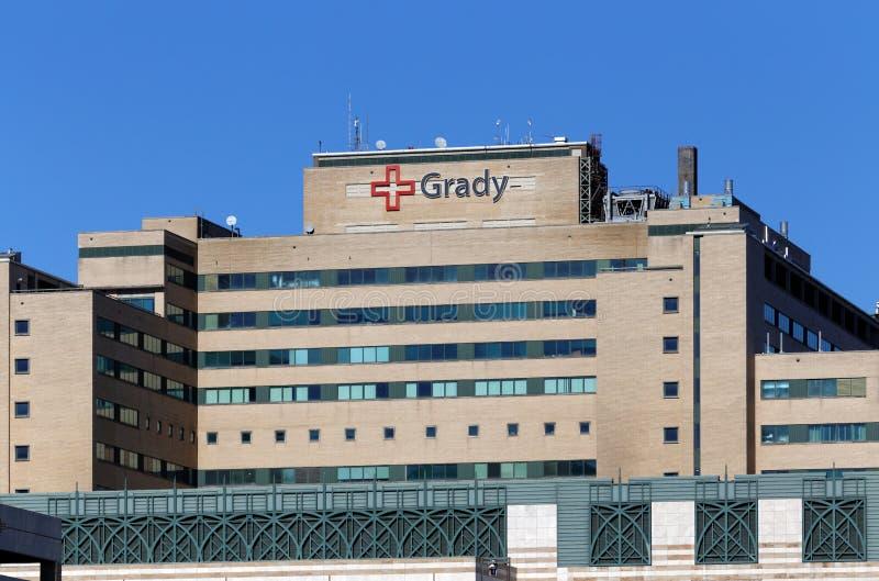 格雷迪纪念医院 库存照片