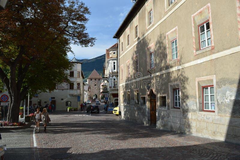 格洛伦扎城市墙壁  免版税库存图片