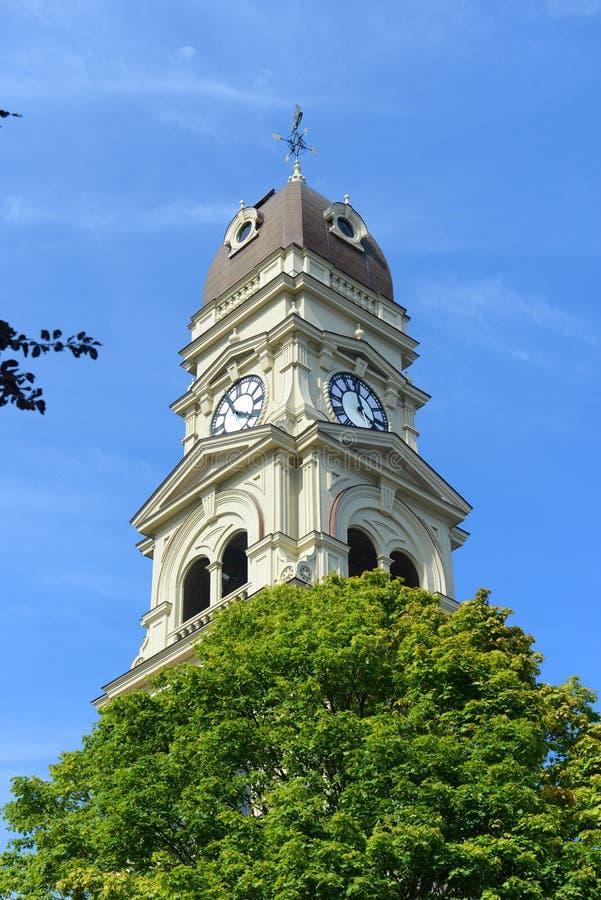 格洛斯特香港大会堂,马萨诸塞,美国 免版税库存照片
