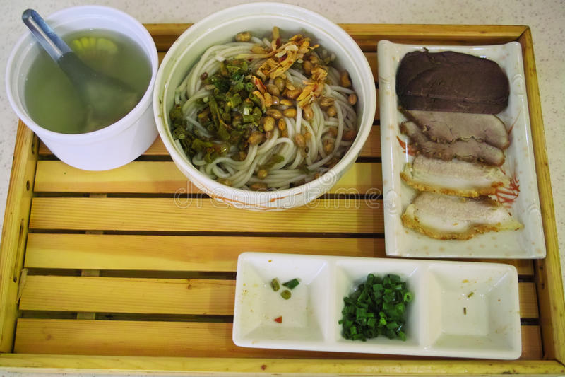 桂林面条米 免版税库存图片