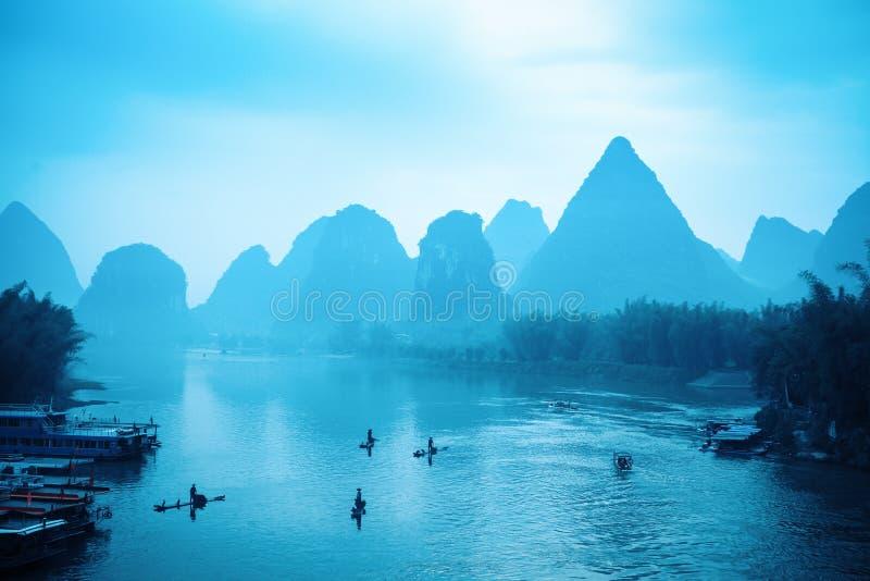 桂林风景举世闻名 免版税库存图片
