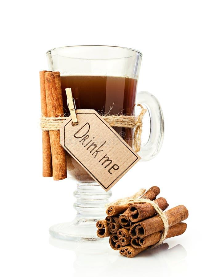 桂香咖啡棍子 库存图片