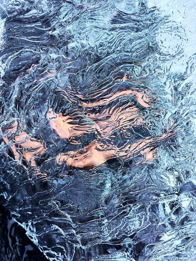 桃红色冰河时期 免版税库存图片