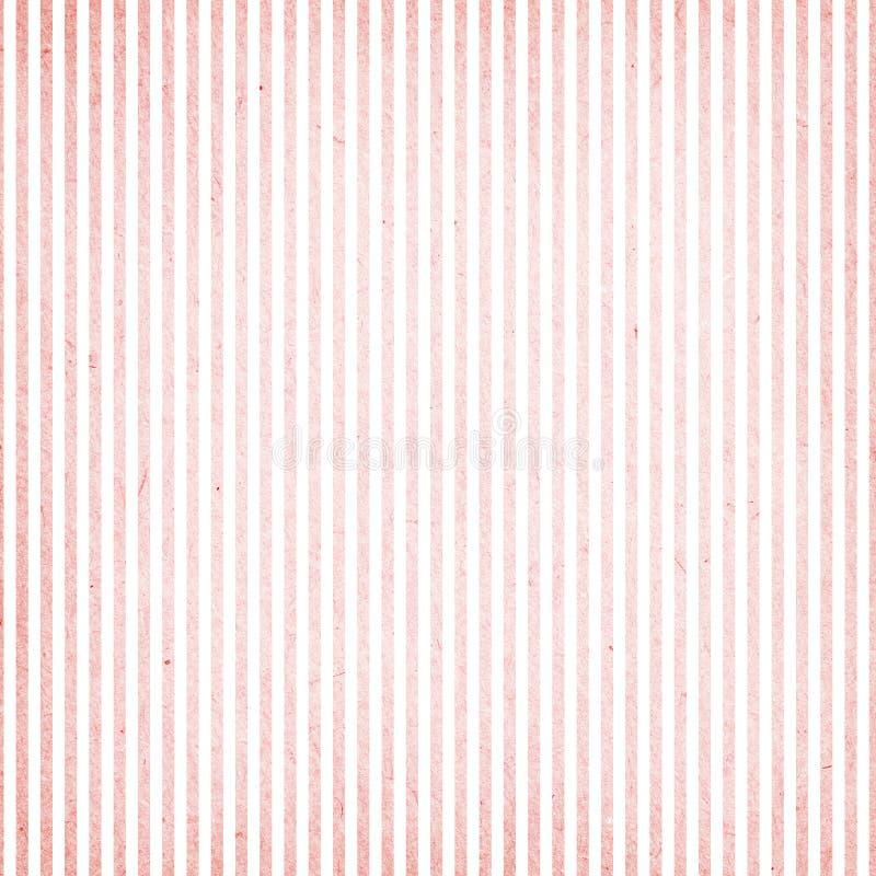 桃红色和白色条纹图形 库存照片