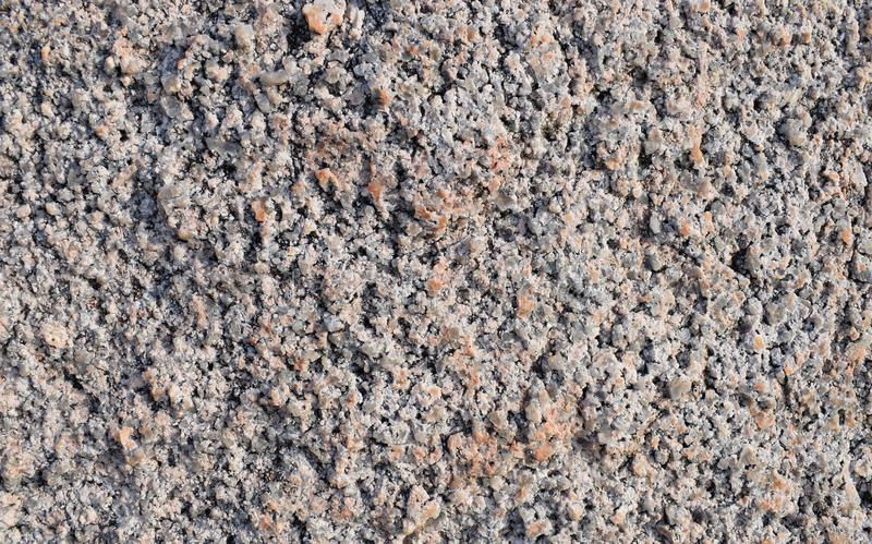 桃红色宏观的花岗岩灰色和 库存图片