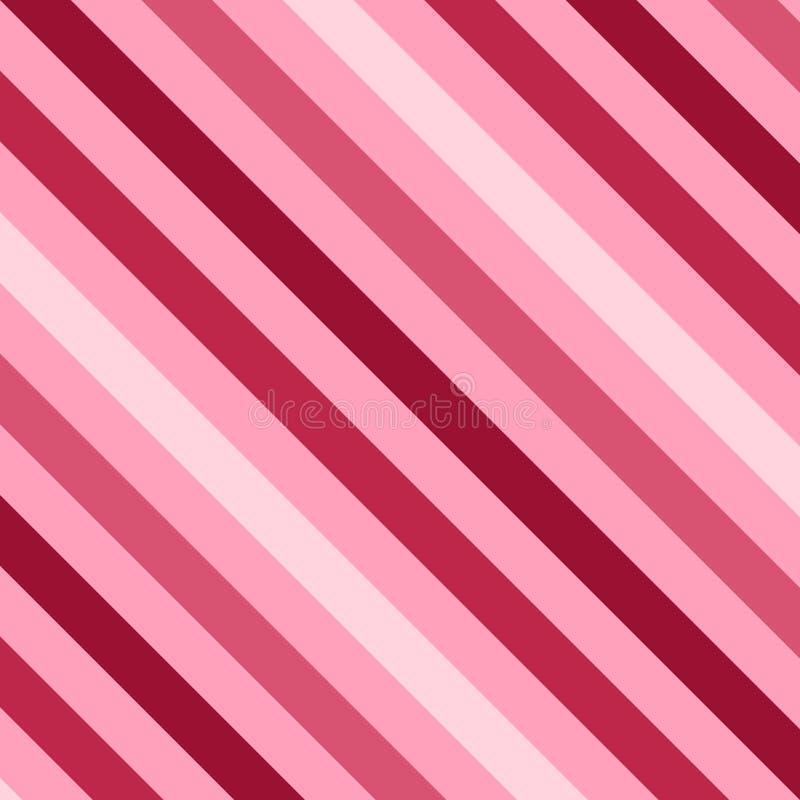 桃红色数据条 向量例证