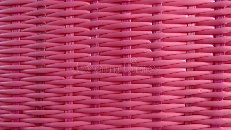 桃红色方平组织背景 库存照片