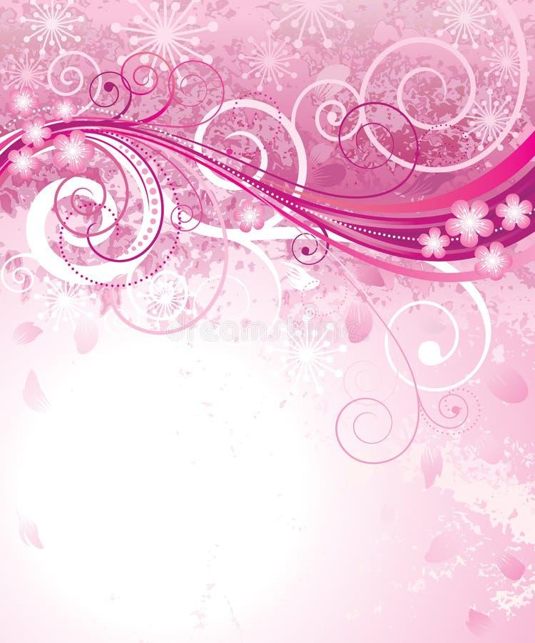 桃红色春天