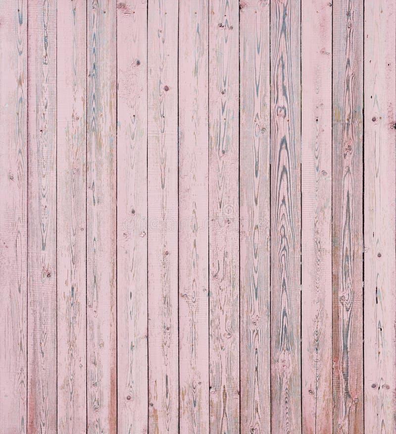 桃红色木板条 图库摄影