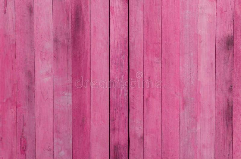 桃红色木纹理背景 库存图片