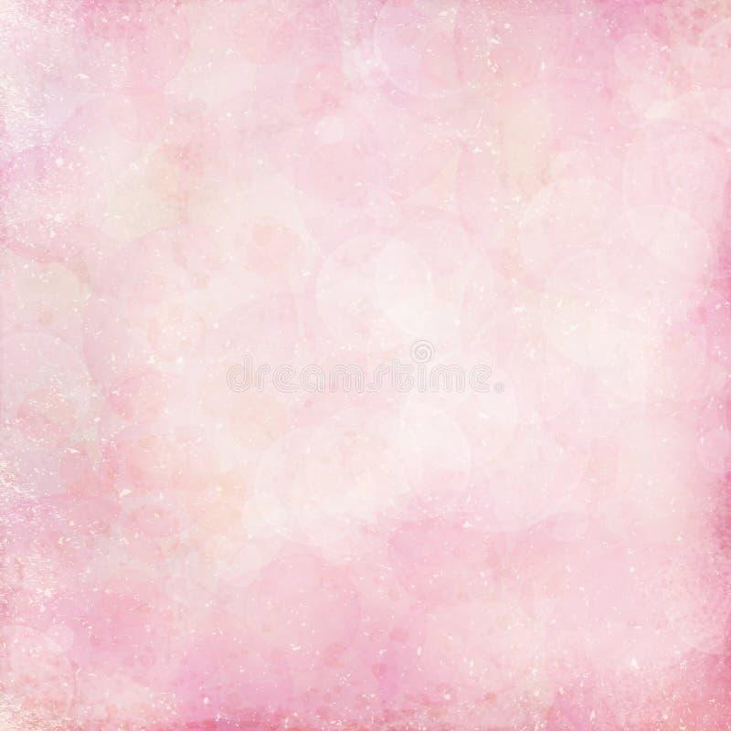 桃红色淡色背景 库存例证