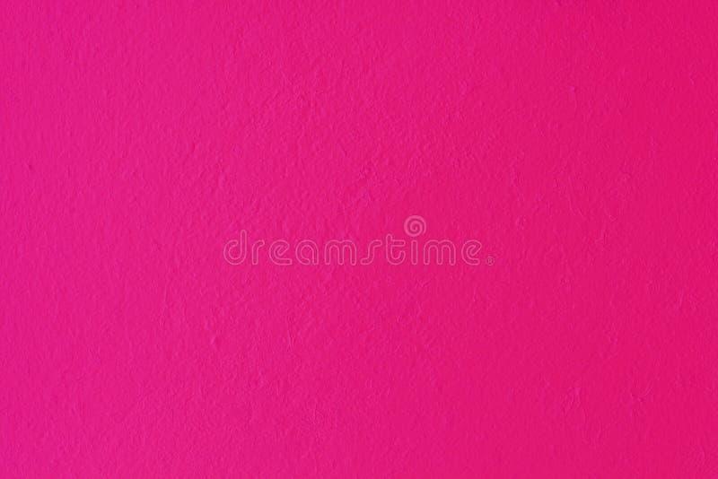 桃红色混凝土或水泥墙壁 库存图片