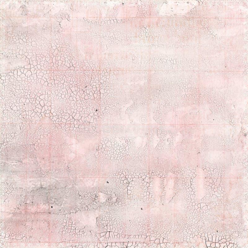 桃红色爆裂声纹理背景 免版税库存照片