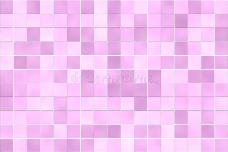 桃红色瓦片墙壁 免版税库存照片