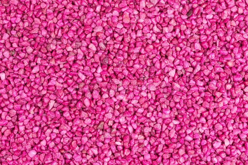 桃红色石头颗粒化 免版税库存照片