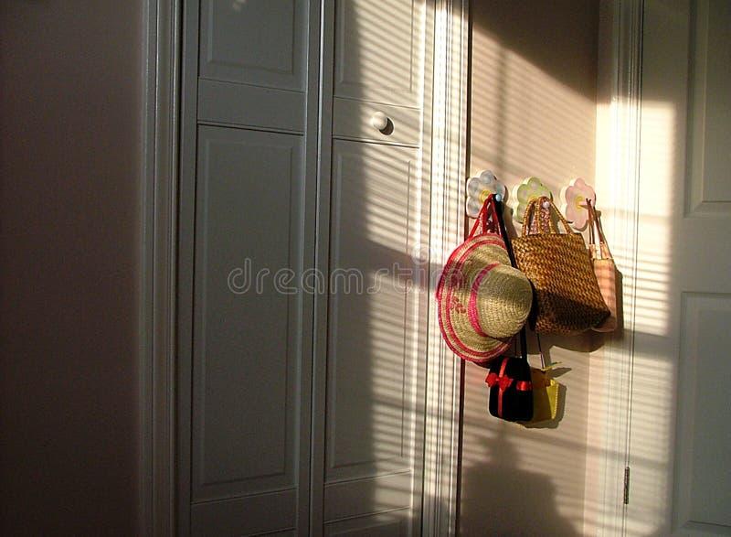 桃红色空间 免版税图库摄影