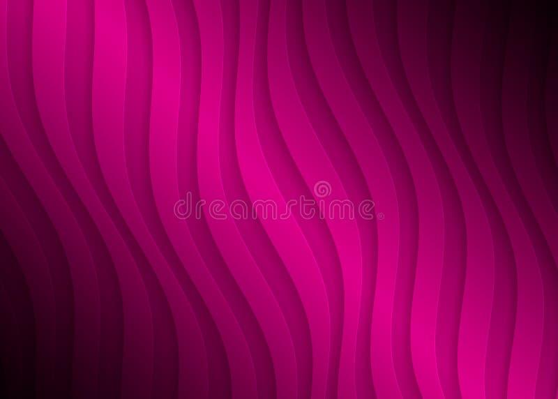 桃红色纸几何样式,网站的,横幅,名片,邀请抽象背景模板 向量例证