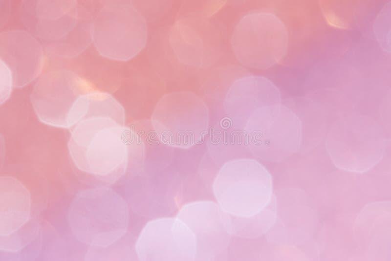 桃红色背景:情人节股票照片 免版税图库摄影