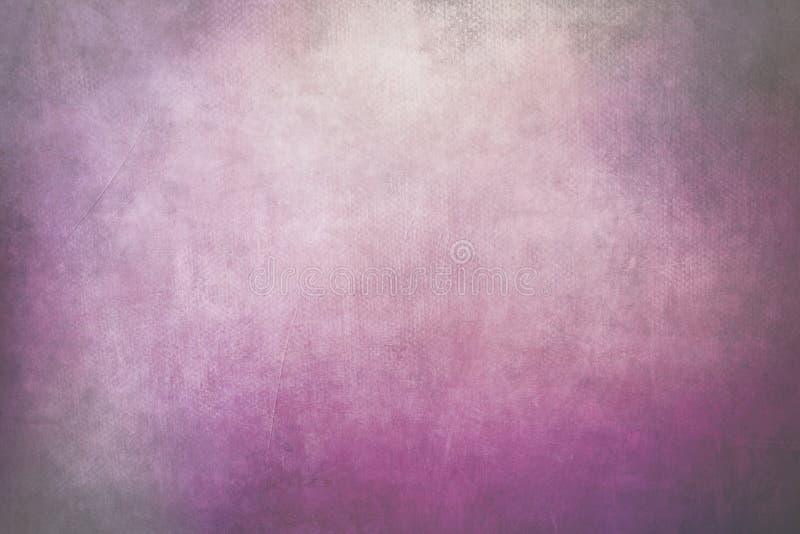 桃红色脏的帆布纹理 免版税库存图片