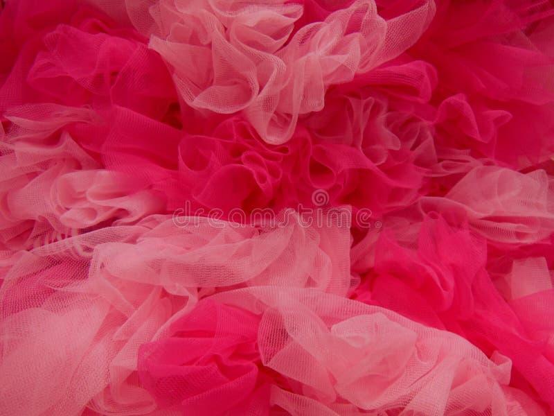 桃红色薄纱 图库摄影