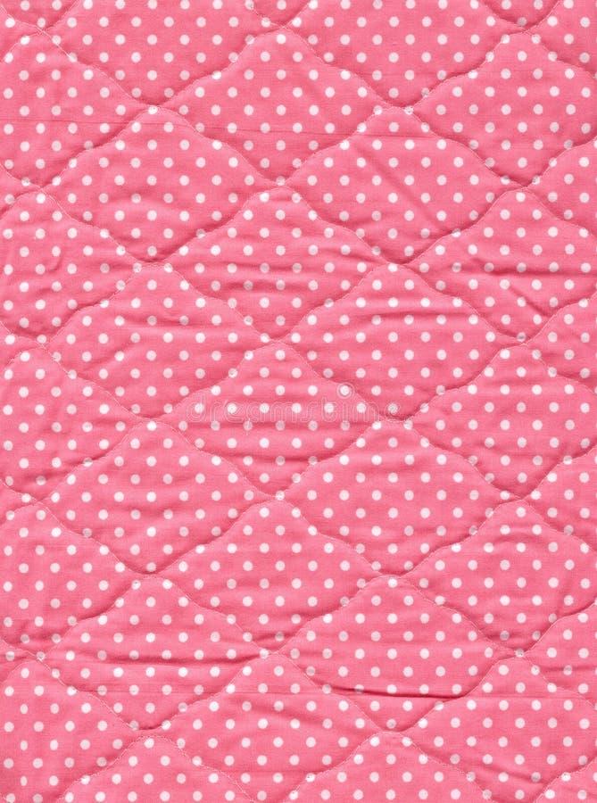 桃红色被子 图库摄影